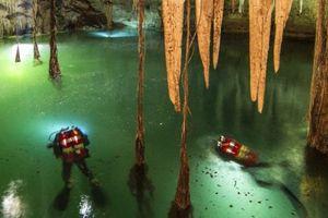 Benarkah Gua Bawah Air Terbesar di Dunia Ini Simpan Rahasia Suku Maya?