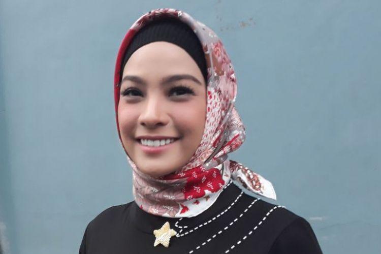 Rachel Maryam ditemui di gedung Trans, kawasan Mampang, Jakarta Selatan, Rabu (16/5/2018).