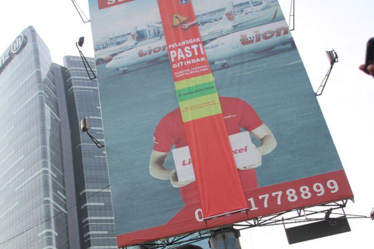 16 Reklame Di Jalan Rasuna Said Melanggar Dan Akan Dipasangi