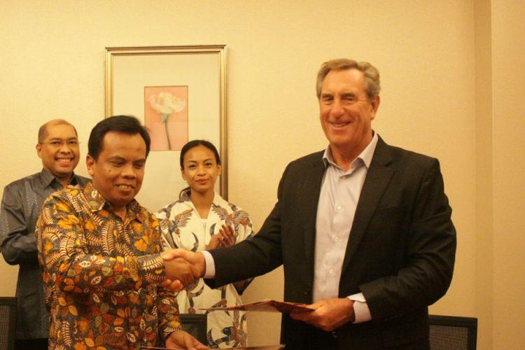 PT Estika Tata Tiara, Tbk melakukan penandatanganan MOU dengan International Livestock Exports Pty Ltd dari Australia, pada Rabu (16/01) di Jakarta, untuk pengadaan 20.000 ekor sapi Bakalan pada tahun 2019.