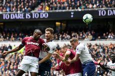 Tottenham Vs West Ham, Kekalahan Pertama di Stadion Baru