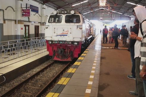 Arus Mudik, Tiket Kereta Api Menuju Cirebon Terjual 67,4 Persen
