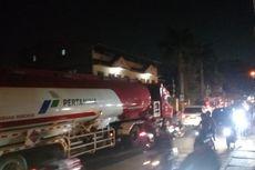 Truk Tangki Pertamina Mogok, Jalan Siliwangi Depok Macet Parah
