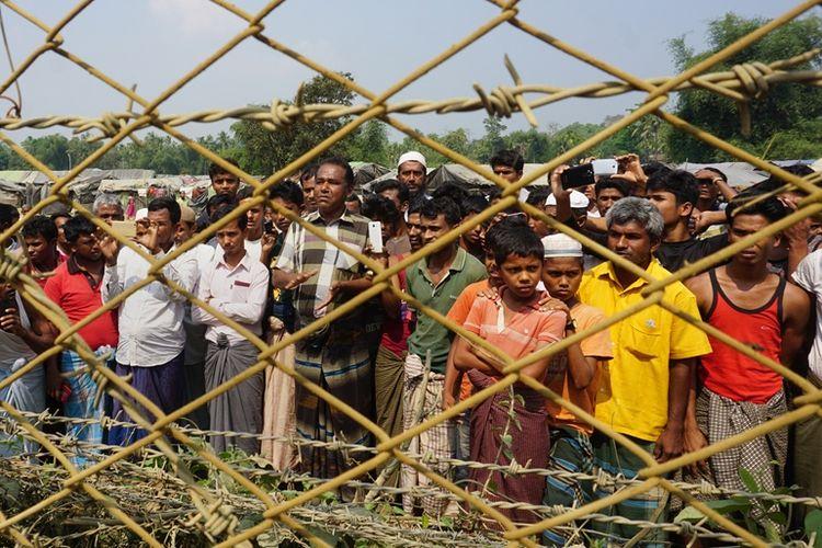 Satu Keluarga Rohingya Dilaporkan Kembali ke Myanmar dari Bangladesh