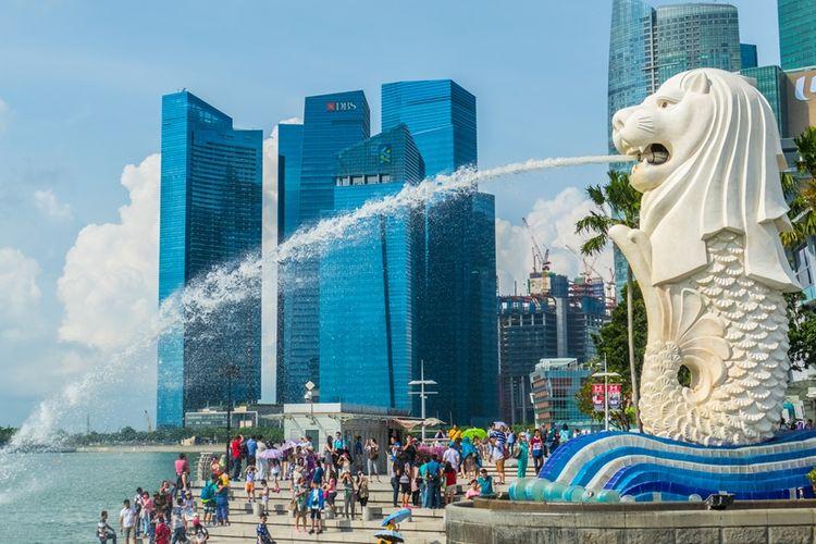 Ilustrasi Singapura.