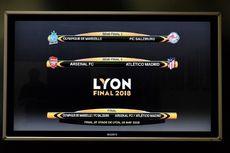Hasil Undian Semifinal Liga Europa, Arsenal Vs Atletico Madrid