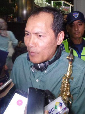 Wakil Ketua KPK Saut Situmorang di Gedung KPK Jakarta, Jumat (14/7/2017).