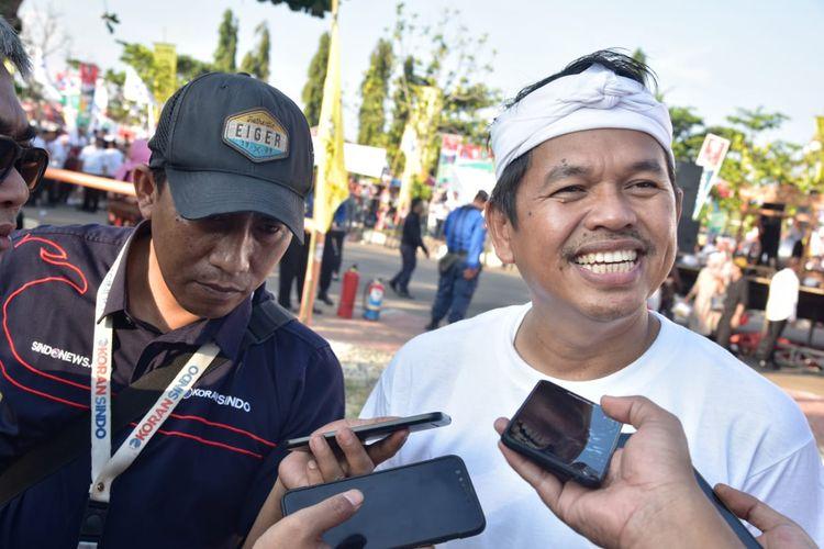 Ketua Tim Kampanye Daerah (TKD) Jokowi-Ma'ruf Amin Jawa Barat Dedi Mulyadi .