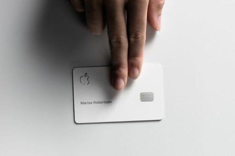 Ilustrasi Apple Card