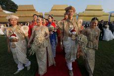 Ketika 50 Pasangan Asal China Menikah Massal di Sri Lanka