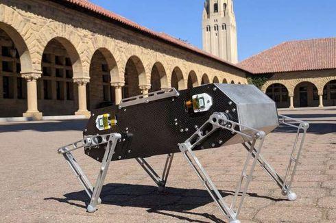 Ilmuwan Stanford Bikin Robot Gesit Mirip Anjing Bisa Jungkir Balik