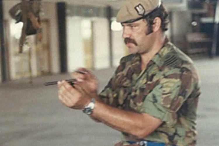 Bob Curry saat masih menjadi anggota SAS.