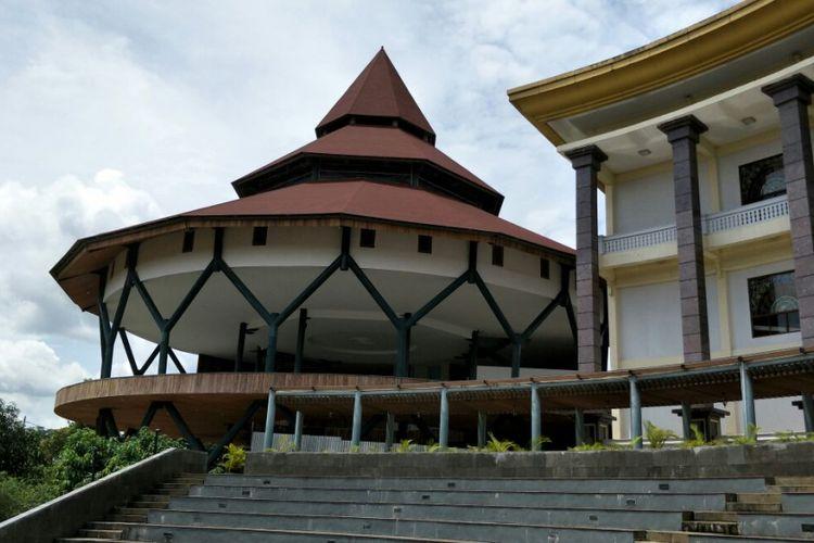 Perkampungan Budaya Betawi (PBB) Setu Babakan di Kelurahan Srengseng Sawah, Jagakarsa, Jakarta Selatan. Foto diambil Kamis (22/3/2018).