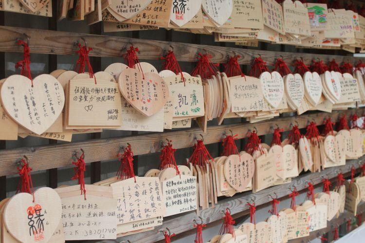 Suasana di Kuil Yasaka Jinja, Kyoto, Jumat (13/10/2017).