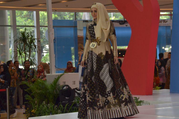 Batik Trenggalek Tampil di Pameran Dekranasda Jatim 2018