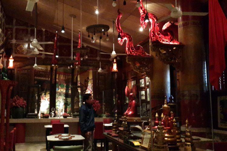 Suasana di Restoran SaigonSan Hotel Tugu Kota Malang, Rabu (7/8/2019)