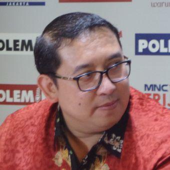 Wakil Ketua DPR RI Fadli Zon dalam sebuah acara diskusi di Cikini, Jakarta Pusat, Sabtu (9/12/2017).