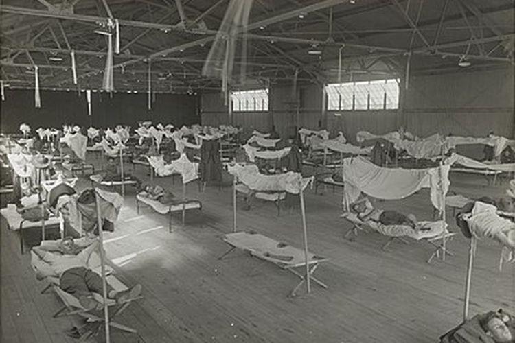 Epidemi Influenza 1918, pasien diisolasi