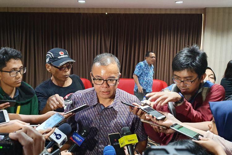 Wakil Ketua Umum PAN Bara Hasibuan di Jakarta, Senin (29/4/2019).