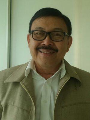 Wakil Ketua Pansus Hak Angket KPK Eddy Kusuma Wijaya di Kompleks Parlemen, Senayan, Jakarta, Kamis (28/9/2017).