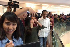 Tiba di Surabaya, Jokowi Langsung Jalan-jalan ke Tunjungan Plaza