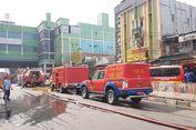 Kebakaran di Blok C Tanah Abang Diduga akibat Korsleting Listrik