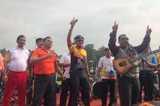 Bersepeda ke Kota Tua, Sandi Temukan 30 PKL yang Bertahan di Taman Kota Intan