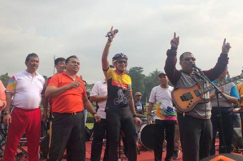 Tantang Elek Yo Band, Sandiaga Mau Main
