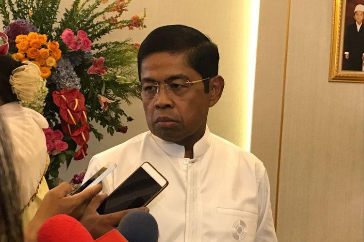 Menteri Sosial Idrus Marham.