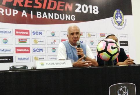 Persib Kalah dari PSMS, Mario Gomez Soroti Gol Offside Lawan