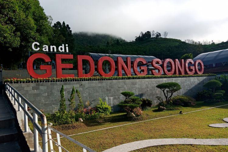 Candi Gedong Songo, Ungaran, Kabupaten Semarang, Kamis (29/3/2018).
