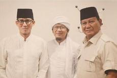 Sebelum Debat, Prabowo-Sandiaga Bertemu AA Gym