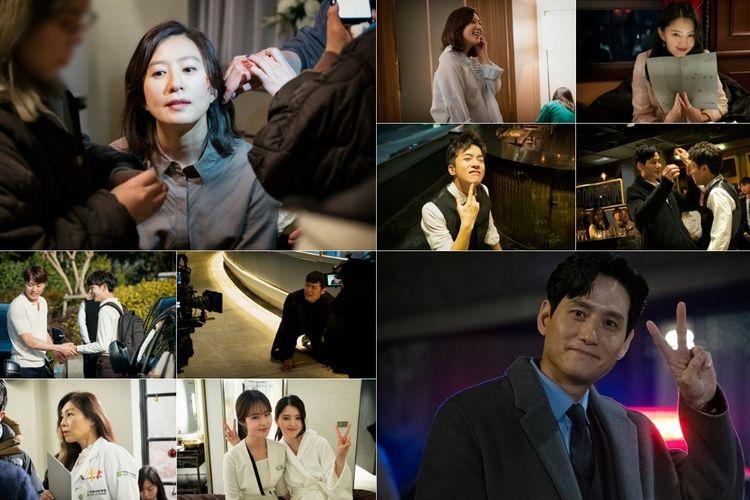 Suasana syuting drama Korea The World of The Married.