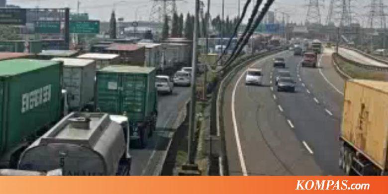 """JSMR Urai Kemacetan, Besok Jasa Marga Uji Coba """"Contraflow"""" Tol JORR - Kompas.com"""