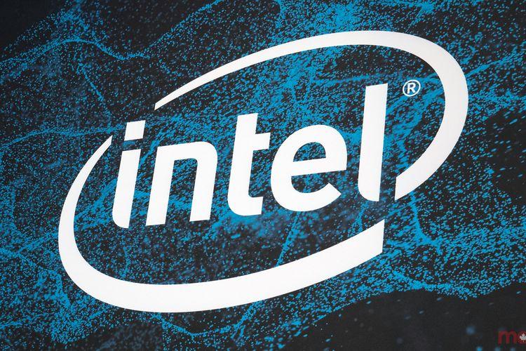 Ilustrasi logo Intel
