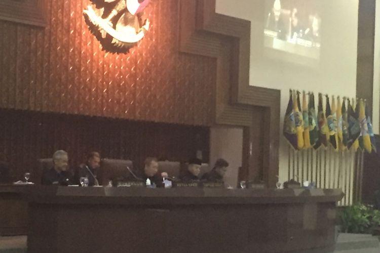 Pemerintah Jawa Tengah dan DPRD Jawa Tengah bersepakat atas perubahan APBD 2017 di Semarang, Kamis (12/10/2017)