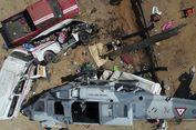 Tinjau Gempa, Helikopter Menteri Meksiko Jatuh dan Tewaskan 13 Orang