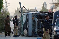 Ledakan Tiga Bom Bunuh Diri di Pakistan, Enam Polisi Tewas