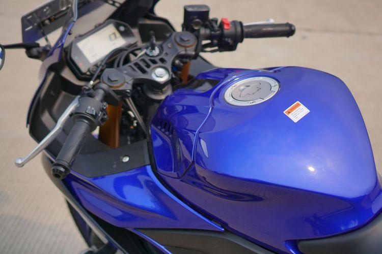 Yamaha YZF-R25 di tes Kompas.com