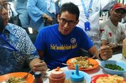 Ke Bandung, Sandiaga Uno Nikmati Bubur Ayam Anti Tumpah Mang Oyo