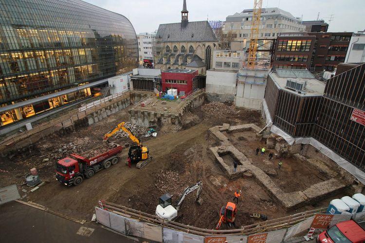 Perpustakaan Zaman Romawi Kuno Ditemukan di Pusat Kota Jerman