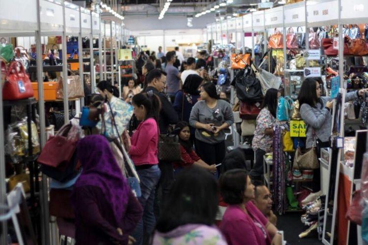 Dokumen acara Irresistible Bazaar di Jakarta.