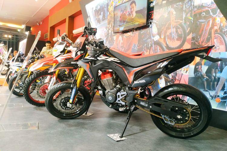 Jajaran motor custom dan modifikasi Honda di Telkomsel IIMS 2019