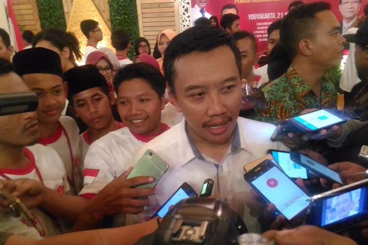 Menteri Pemuda dan Olahraga, Imam Nahrawi ketika ditemui di bangsal Kepatihan, Jalan Malioboro, Kota Yogyakarta, Jumat (21/7/2017)