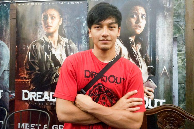 Artis peran Jefri Nichol dalam Meet and Greet DreadOut The Movie di City Plaza, Jatinegara, Jakarta Pusat, Sabtu (24/11/2018).