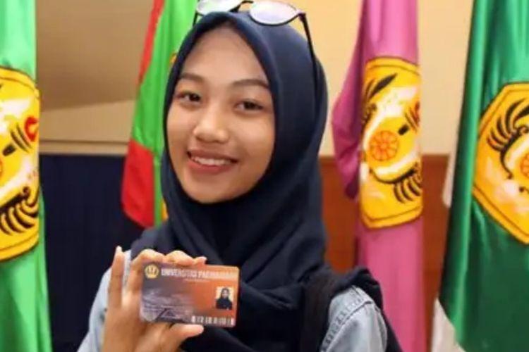 Elysia Wiyadhari tercatat sebagai mahasiswa baru termuda di Unpad tahun akademik 2019/2020.