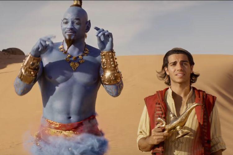 Cuplikan trailer terbaru film live-action Aladdin yang akan tayang pada 24 Mei 2019.