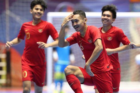 Kalahkan Irak, Timnas Futsal Indonesia Lolos ke Babak Perempat Final