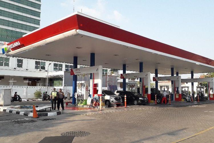 SPBU Pertamina 31.114.01 Jalan S. Parman, Slipi, Palmerah, Jakarta Barat