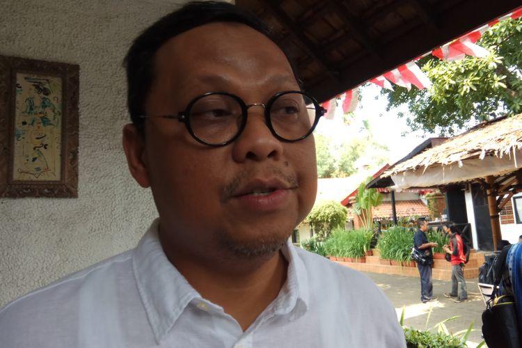 Wakil Ketua Komisi II Dewan Perwakilan Rakyat (DPR) RI Lukman Edy Ketika Ditemui di Jakarta, Rabu (16/8/2017).